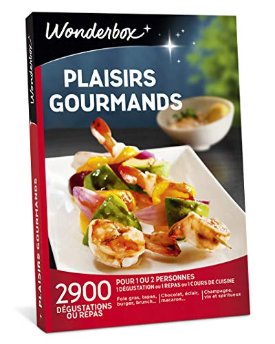 Coffret Wonderbox Plaisirs gourmands