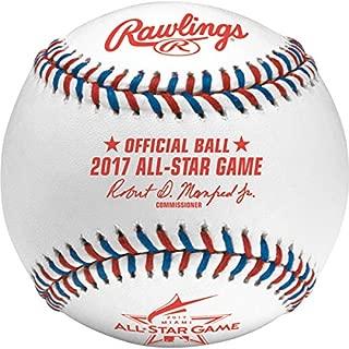 Rawlings MLB 2017 Official All Star Baseball in Display Cube