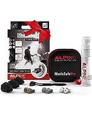 Alpine MusicSafe Pro Tapones para los oídos para músicos - Mejora tu experiencia musical con tres filtros intercambiables - Protección auditiva Hipoalergénico - Tapones reutilizables - Negro