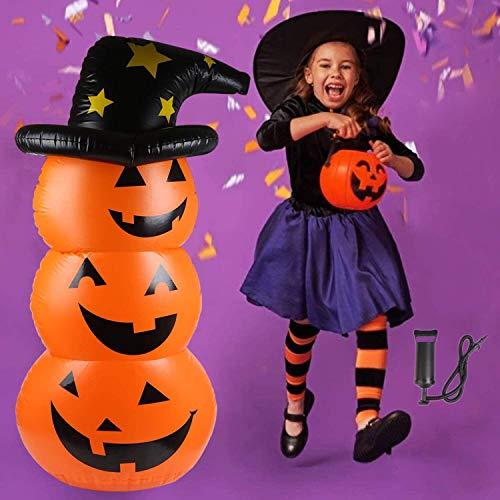 VEYLIN ハロウィンかぼちゃ バルーン パンプキン ロッキング カボチャ風船 水注ぐ 巨大 ホームデコレーシ...