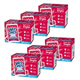 Wet Ones Antibacterial Hand Wipes, Fresh Scent, 24 Individually Wrapped Wipes (Pack of 6), Packaging May Vary