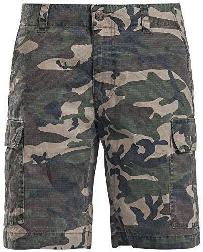 Dickies Herren Shorts New York, Mehrfarbig (Camouflage), W32