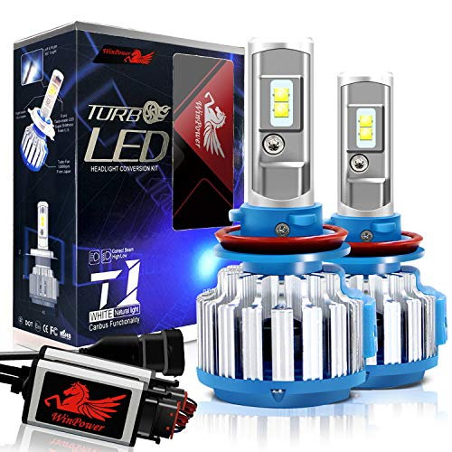 Win Power H11 LED Headlight Bulb Conversion Kit H8 H9 CREE 70W 7,200Lm 6000K Cool White Fog Lights+ Canbus-2 Yr Warranty