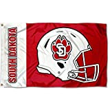 College Flags & Banners Co. South Dakota Coyotes Football Helmet Flag