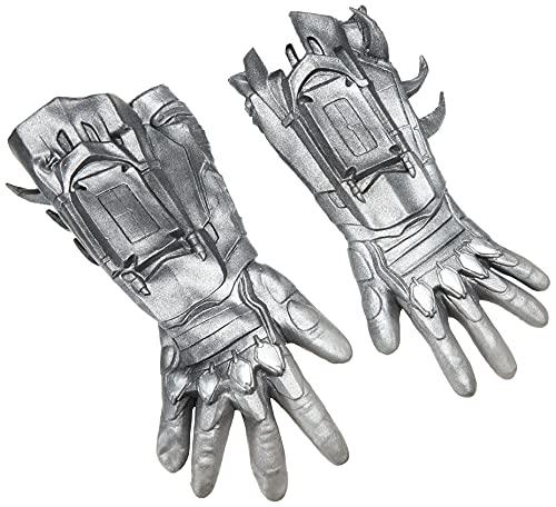 Rubie's mens Arkham City Deluxe Batman Gloves Costume Accessory, Black, One Size US