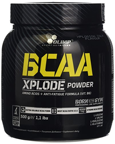 Olimp Labs Cola BCAA Xplode Recovery and Energy Supplement Powder, 500g