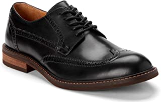 Vionic Men's Bowery Bruno Oxford Shoes – Leather Shoes Men Concealed Orthotic Support