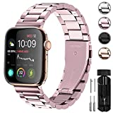 Fullmosa Für Apple Watch Armband 38mm/40mm, Rostfreier Edelstahl Watch Ersatzband für iWatch/Apple...