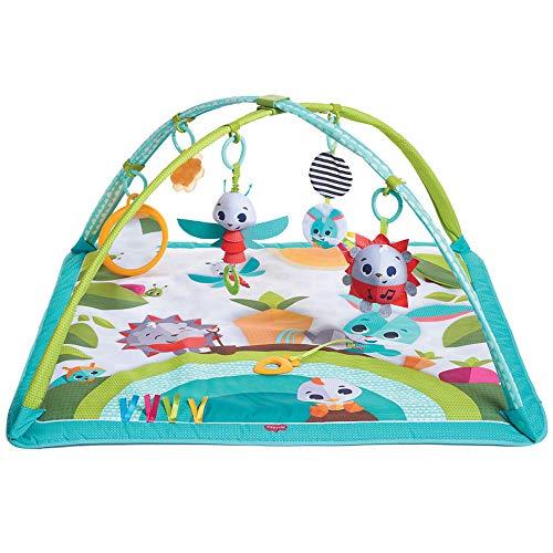 Tiny love New Sunny Day Palestrina per Neonati e Bambini, Multifunzione con Archi Gioco Regolabili, Tappeto Imbottito, Giochi e Varie Attività, Collezione Meadow Day