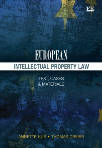 Kur, A: European Intellectual Property Law