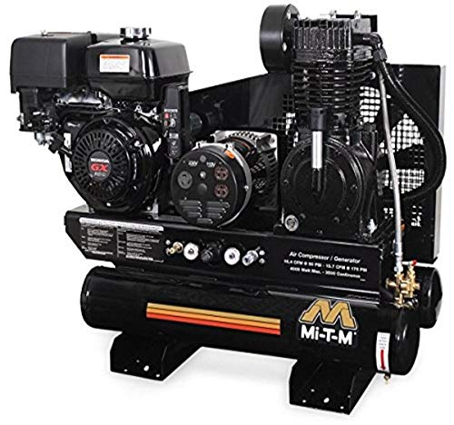 Mi-T-M AG2-SK14-08M1 Air Compressor, 2-Stage Combination, 8 gal