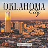 """Oklahoma City 2022 Calendar: From January 2022 to December 2022 - Square Mini Calendar 8.5x8.5"""" - Small Gorgeous Non-Glossy Paper"""