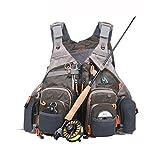 Maxcatch Fly Fishing Vest Mesh Vest Free Size