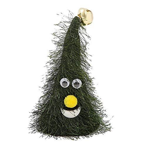HWTOP Elektrische Schaukel Tanzende Weihnachtsmütze Weihnachtsbäume Cartoon Niedliches Spielzeug