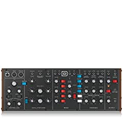 "Legendary analog synthesizer with Triple vco design allows for insanely fat music creation Authentic reproduction of original ""D type"" circuitry with matched transistors and jfets Ultra-high precision 0.1% thin film resistors and polyphenylene sulphi..."