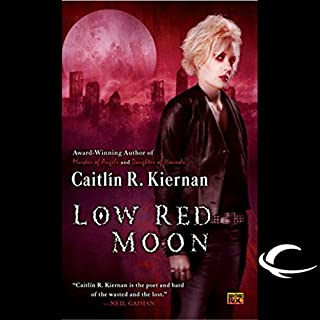 Low Red Moon audiobook cover art
