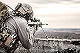 Soldat Sniper Scharfschütze XXL Wandbild Foto Poster P0202