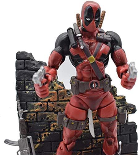 CHUNQING Decoracin Regalo 20CM-Marvel Select Figura de accin Nio Deadpool