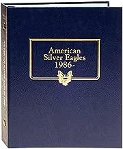 Whitman US American Silver Eagle Coin Album 1986 - 2021 #3395