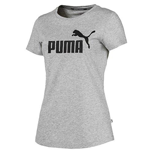 PUMA Camiseta para Mujer con Logotipo ESS, Mujer, Camiseta, 851787_04, Gris, XXX-Large