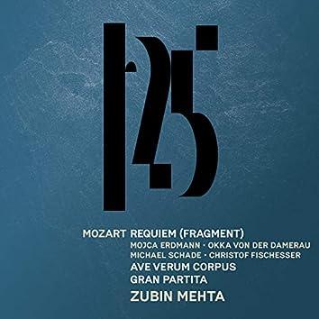 "Mozart: Sereande No. 10, ""Gran partita"", Requiem (Fragment), Ave verum corpus [Live]"