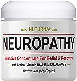 Neuropathy Nerve Pain Relief Cream - Maximum Strength Relief Cream for Feet, Hands, Legs, ...
