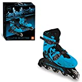 Mondo Toys – Boy in Line Skates – Rollers en Ligne réglables – Roues PVC – Roller Enfant / Fille – Taille M / Taille 33/36 – 28330