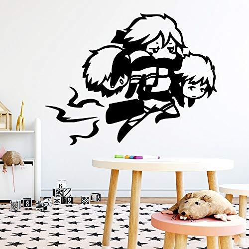 yaonuli Cartoon Vinyl waterdichte muurtattoo Jongen slaapkamer sticker wandsticker waterdicht behang