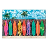 Plastic Surf's up Surfboard Backdrop Banner Photo Prop by OTC