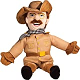 The Unemployed Philosophers Guild Theodore Roosevelt Little Thinker - 11' Plush Doll for Kids and Adults