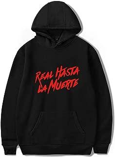 Anuel AA Unisex Leisure Hooded Sweatshirt for Men