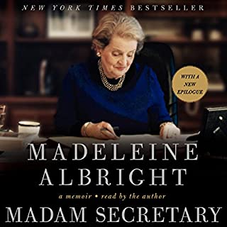 Madam Secretary audiobook cover art
