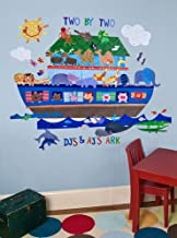 Oopsy Daisy Noah's Ark Peel and Place Wall Art, 54 by 45