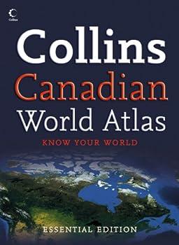 Paperback Collins Canadian Essential World Atlas Book