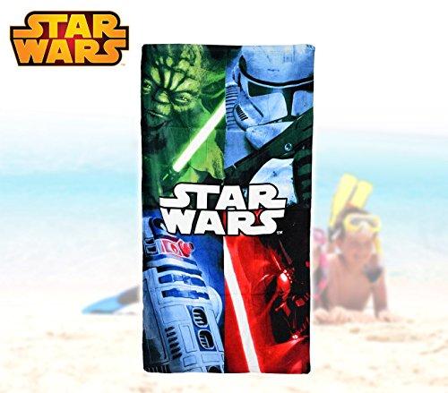 Star Wars 140 x 70 cm La Playa y Toalla de baño