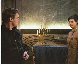Stargate SG-1 Michael Shanks Talking with Morena Baccarin On Ori Ship 8 x 10 Photo
