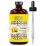 Beauty Aura 100% Pure Lemon Essential Oil 4 oz - Made from Real Lemon...