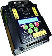 ICM Controls ICM455 3-Phase Monitor, 100-Fault Memory with Time/Date Stamp, LCD, Setup and Diagnostics