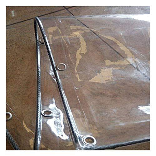 PENGFEI Bâche De Protection Transparent De Plein Air Joint De Fenêtre Plante Résistant Au Froid, PVC, 600 G / ㎡, Plusieurs Tailles (Couleur : Transparent, taille : 3x6m)