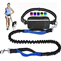 """{Shock absorbing bungee with 2 handles} Perfect degree of flexibility, reduces stress from pulling and tugging, absorbs abrupt changes of direction of your dog. The length of the leash is 49"""" when the bungee is relaxed and can be extended up to 69"""", ..."""
