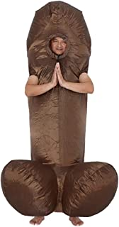 Wild Cheers Inflatable Costume Adult, Sexy Funny Costumes for Bachelor's Party, Halloween Party