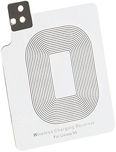 Callstel Induktiv Laden: Qi-kompatibles Receiver-Pad für Samsung Galaxy S5 (Qi Induktions Ladegeräte)