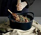 Zoom IMG-1 miao cucina in ghisa nera