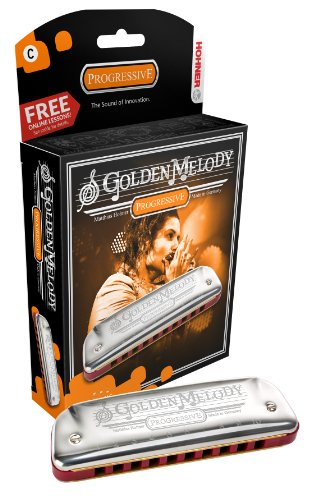 Hohner Golden Melody Mundharmonika D