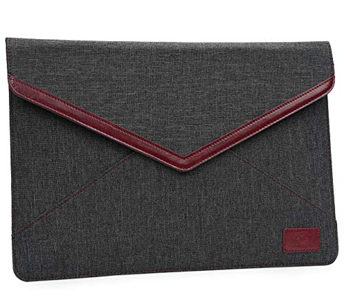 TYTX Laptop Envelope Sleeve for New MacBook Air 13 inch with Retina Display 2018-2020 A1932 A2179, 13 Inch MacBook Pro with USB-C Late 2016-2020 A2159 A1989 A1706 A1708, Dark Grey