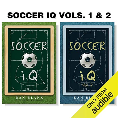 Soccer iQ (2 Book Series) Audiobook By Dan Blank cover art