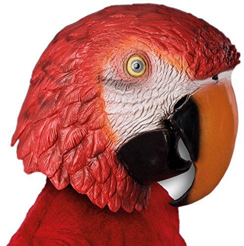 Masque Carnaval Jouets 1178 Latex Pet Parrot géant Costume