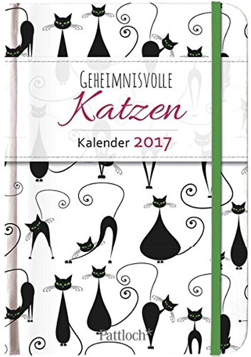 デジタル苦味誘惑するGeheimnisvolle Katzen - Terminkalender 2017