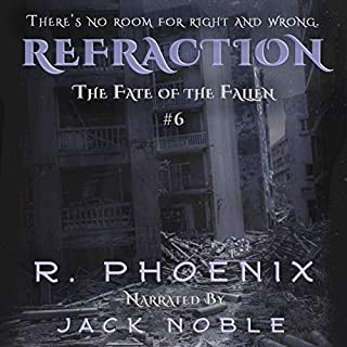 Refraction audiobook cover art