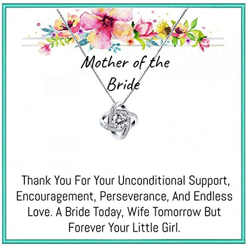 Mother of the Bride Gift Necklace